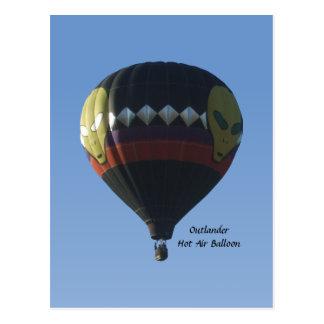 Outlander-Heißluft-Ballon-Postkarte Postkarte