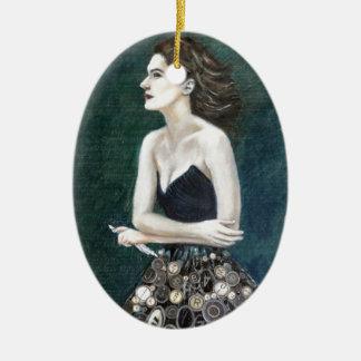 Ovale Verzierung - Verfasser Muse Ovales Keramik Ornament