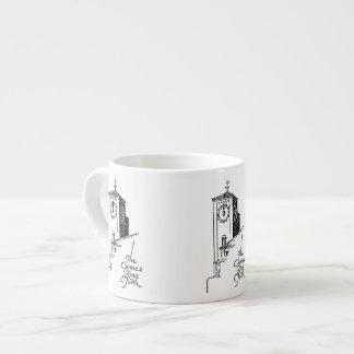 Oviatt Gebäude-Glockenturm Espressoschale 1929 Espressotasse