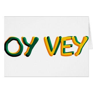Oy Vey Karte