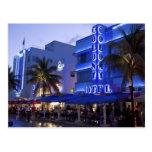 Ozean-Antrieb, Südstrand, Miami Beach, 2 Postkarte