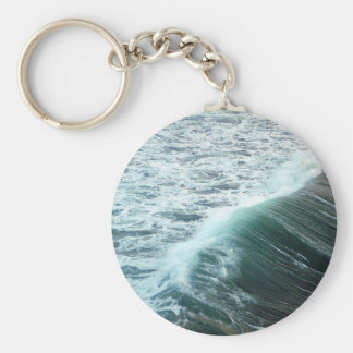 Ozean-Blau Schlüsselanhänger