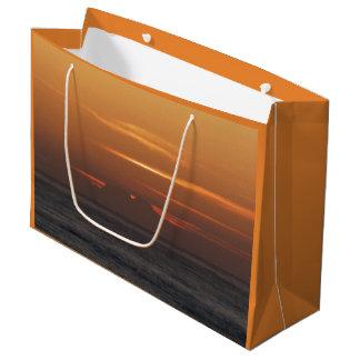 Ozean-Sonnenuntergang-Geschenk-Tasche Große Geschenktüte