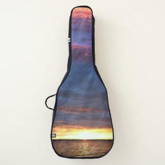Ozean-Sonnenuntergang Gitarrentasche
