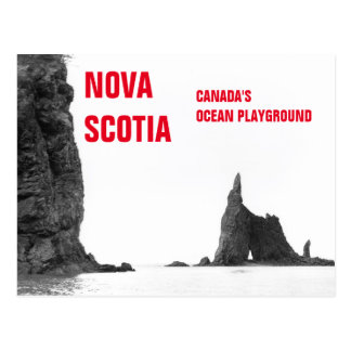 Ozean-Spielplatz-Vintager Posten Neuschottlands Postkarten