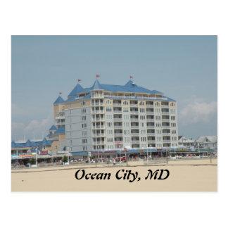 Ozean-Stadt, MD-Postkarte Postkarte