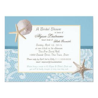 Ozean-Thema-Polterabend 16,5 X 22,2 Cm Einladungskarte