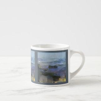 Ozean-Themaespresso-Tasse Espressotassen