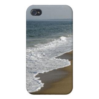 Ozean-Wellen auf dem Strand iPhone 4 Cover