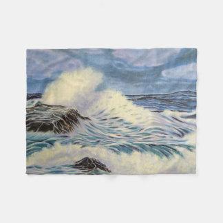 Ozean-Wellen Fleecedecke
