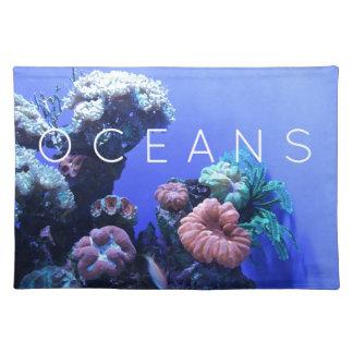 Ozeanumwelt Stofftischset