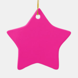 P24 wütend für Magenta! Rosa Farbe Keramik Ornament
