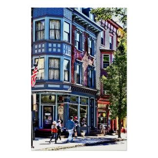 PA Jim-Thorpe - Fenster-Einkaufen Poster