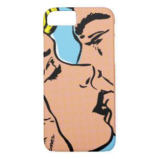 Paare iPhone 7 Fall kaum dort küssen iPhone 7 Hülle