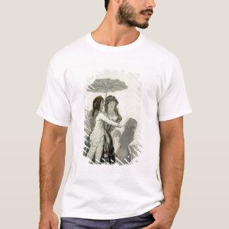 Paare mit einem Sonnenschirm T-Shirt