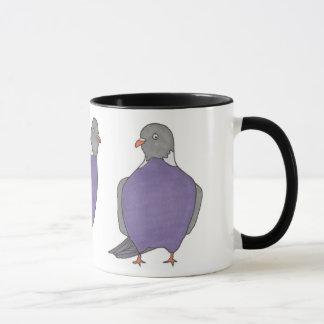 Paare Tauben Tasse