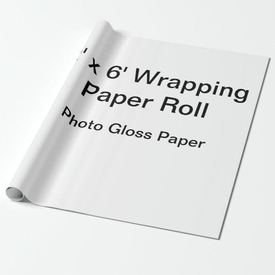 Mattes Geschenkpapier, 76,2 cm x 1,8 m