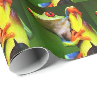 Packpapier des Frosch-2 Einpackpapier