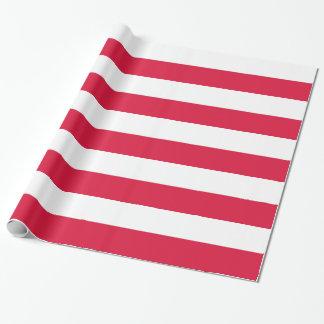 Packpapier mit Flagge von Polen