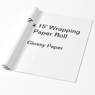 Packpapier (Rolle 2x15, Glanzpapier) Einpackpapier
