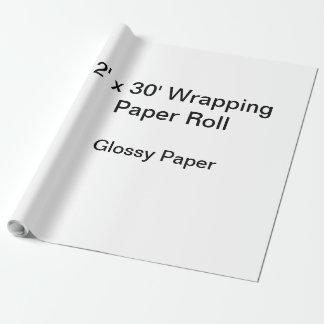 Packpapier (Rolle 2x30, Glanzpapier) Einpackpapier