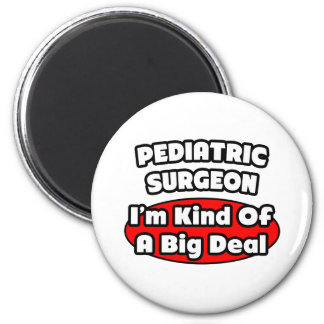 Pädiatrische Chirurg-… große Sache Runder Magnet 5,1 Cm