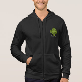 Paisley-Gekritzel-Charakter für Android™ Hoodie