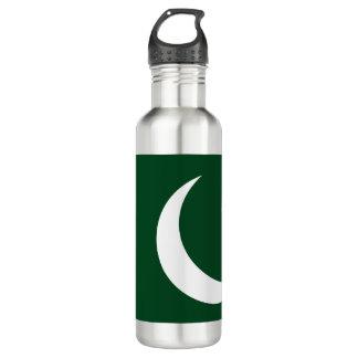 Pakistan-Flagge Trinkflasche