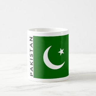 Pakistan-Landesflaggetextname Kaffeetasse