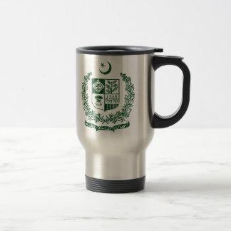 Pakistan-Wappen Reisebecher