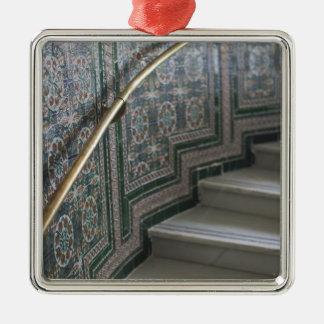Palacio de Communicaciones, maurische Fliesen Silbernes Ornament