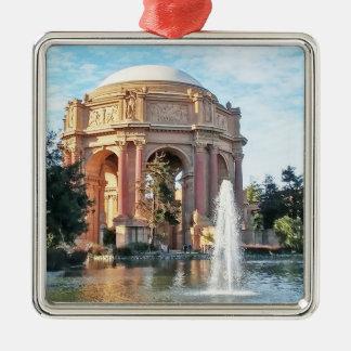 Palast von schönen Künsten - San Francisco Silbernes Ornament