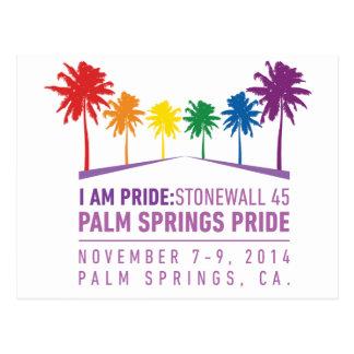 Palm Springs-Stolz 2014 Postkarte