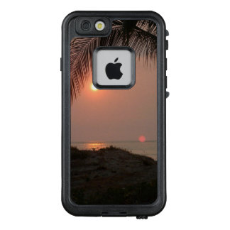 Palmesonnenuntergang in Costa Rica LifeProof FRÄ' iPhone 6/6s Hülle