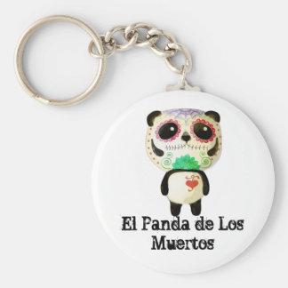 Panda des Tages der Toten Schlüsselanhänger