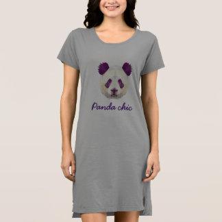 Panda-schickes T-Shirt Kleid