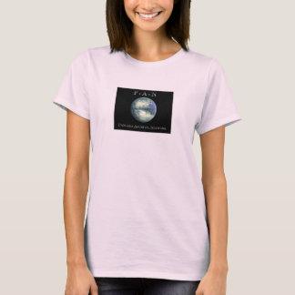Pangaea das Baby archivalischen Netzes - Puppe T-Shirt