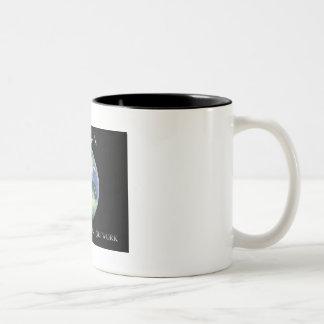 Pangaea der Ton-Kaffeetasse archivalischen Netzes Zweifarbige Tasse