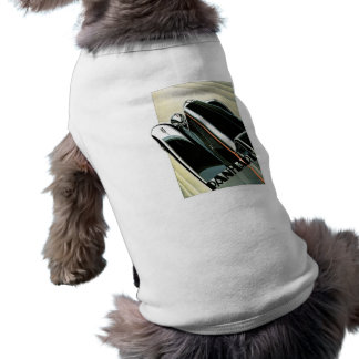 Panhard Automobil Vintag Ärmelfreies Hunde-Shirt