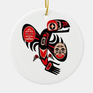 Panikattacke Keramik Ornament