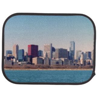 Panorama der Chicago-Skyline Automatte