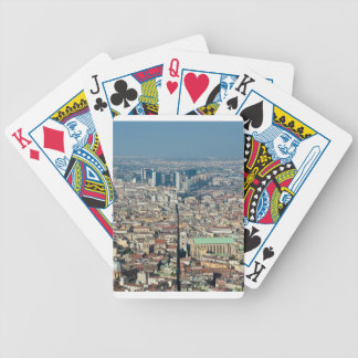 Panorama von Neapel Bicycle Spielkarten