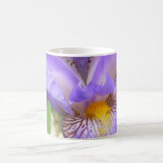 Panoramische lila Iris Tasse