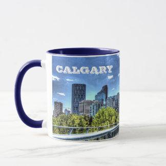 Panoramische Schale Calgarys Alberta Tasse