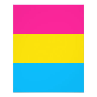 """PANSEXUAL STOLZ-FLAGGE "" 11,4 X 14,2 CM FLYER"
