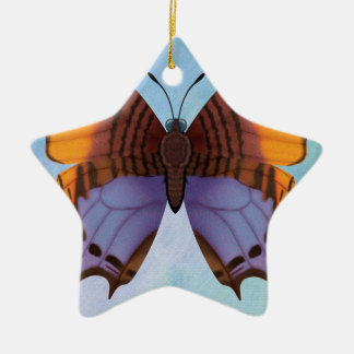 Pansy Daggerwing Schmetterling Keramik Ornament
