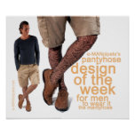 Pantyhoseentwurf der Woche I. Plakate