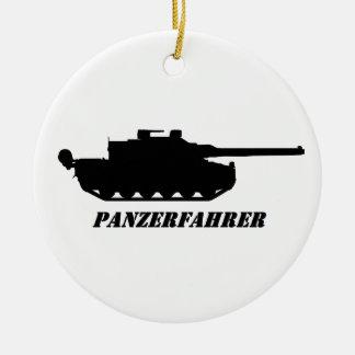 panzerfahrer keramik ornament