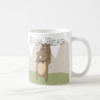 Papa-Bärn-Geschenk-Tasse, der Vatertag oder Tasse