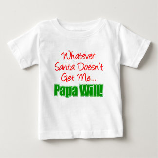 Papa besser als Sankt Baby T-shirt